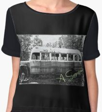 Magic bus Chiffon Top