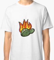 flaming school cap Classic T-Shirt