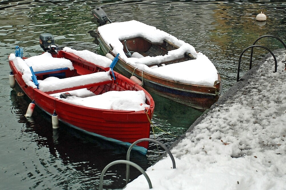 Winter in Riva del Garda by Arie Koene