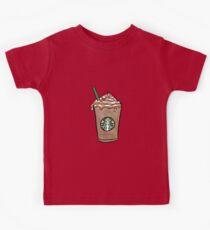 Starbucks Cartoon // By Phuxi Kids Tee