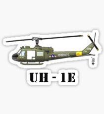 Helicopter UH-1E Sticker