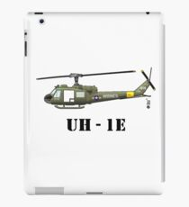 Helicopter UH-1E iPad Case/Skin