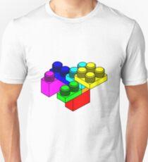 Colourful Lego Blocks Unisex T-Shirt