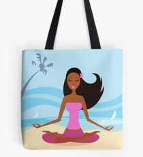 New in Shop : hand-drawn Joga / PINK Tote Bag