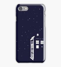 Tardis starry night iPhone Case/Skin