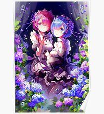 RAM  & REM Poster