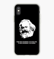 Karl-Marx-Zitat iPhone-Hülle & Cover