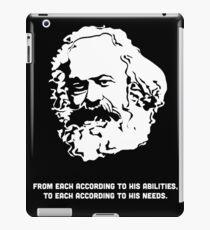 Karl-Marx-Zitat iPad-Hülle & Klebefolie