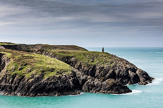 Beacon at Porthgain, Pembrokeshire by Heidi Stewart