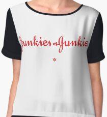 Junkies & Junkies Chiffon Top