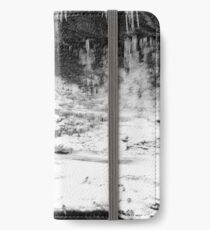Icy Falls iPhone Wallet