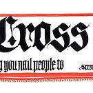 Kreuz, Nomen von Ian K.