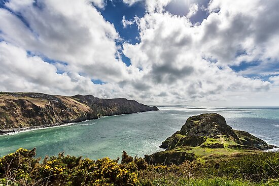 Dramatic Views over Penbwchdy, Pembrokeshire by Heidi Stewart