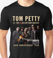 tom petty & the heartbreakers - 40th anniversary tour Unisex T-Shirt