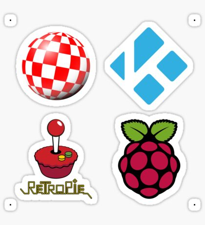 Boing Ball - Raspberry Pi Case Sticker Sticker