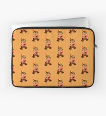 Cute retro Kid Billy as a Native Indian Laptop Sleeve