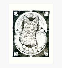 third eye felined Art Print