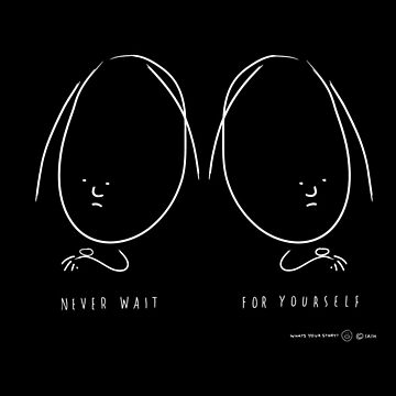 Never Wait by carltoons