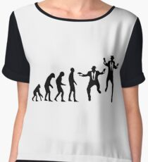 Evolution of the Blues brothers Chiffon Top