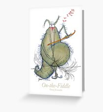 On-the-Fiddle by Tony Fernandes Greeting Card