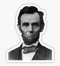 US President Abraham Lincoln Sticker