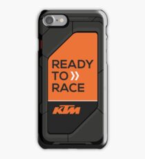 high tech KTM carbon fiber case iPhone Case/Skin