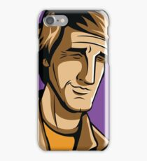 Time Travelers, Series 3 - Dr. Sam Beckett (Alternate) iPhone Case/Skin
