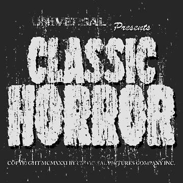 Classic Horror by samRAW08