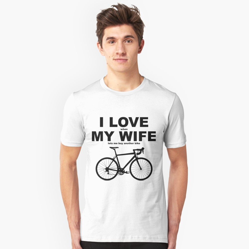 I LOVE MY WIFE* Unisex T-Shirt Front