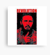 Fidel Castro art Canvas Print