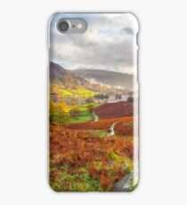Rydal Water, Lake District, UK. iPhone Case/Skin