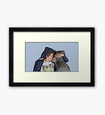 MINUTE BY MINUTE Framed Print