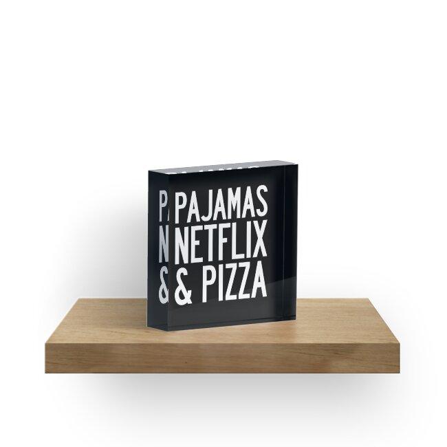 PAJAMAS NETFLIX & PIZZA by limitlezz