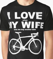 I LOVE MY WIFE* Graphic T-Shirt