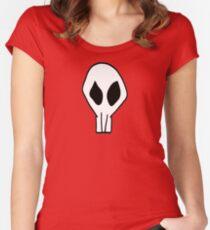 Gaige Mechromancer Skull Logo Women's Fitted Scoop T-Shirt