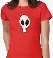 Gaige Mechromancer Skull Logo Womens Fitted T-Shirt