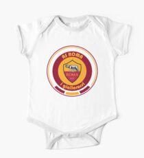 Body de manga corta para bebé Serie A - Equipo AS Roma