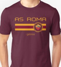 Camiseta ajustada Serie A - AS Roma (Home Dark Red)