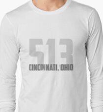 Cincinnati, Ohio 513 Long Sleeve T-Shirt