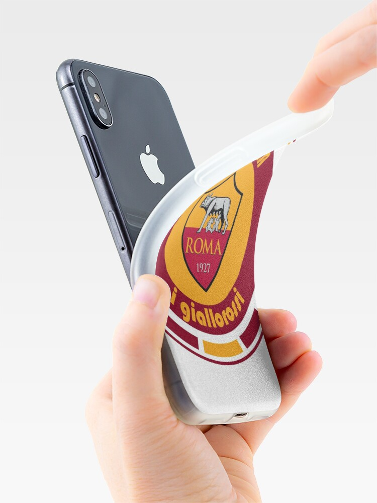 Alternate view of Serie A - Team AS Roma iPhone Cases & Covers