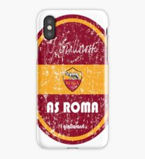 Serie A - AS Roma (Distressed) iPhone Case/Skin