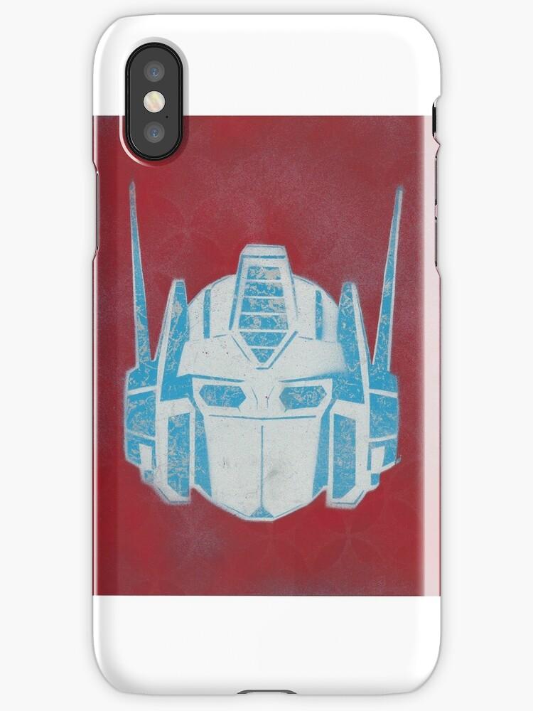 Optimus Prime by deadpayphone