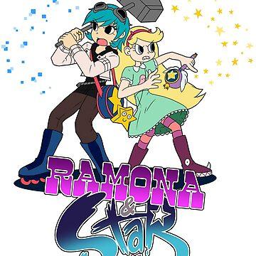 Ramona & Star Vs EVERYTHING! by trakker1985