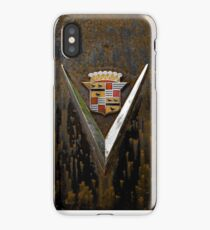 Abandoned 1948 Cadillac Emblem Detail iPhone Case/Skin