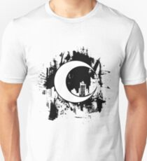 Moon Knight city-scape Black T-Shirt