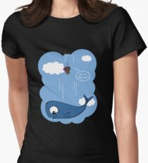 Ballena y petunias T-Shirt