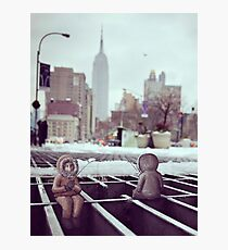 lonely eskimos - empire state building Photographic Print