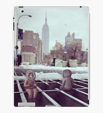 lonely eskimos - empire state building iPad Case/Skin