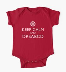 KEEP CALM and DRSABCD shirt One Piece - Short Sleeve