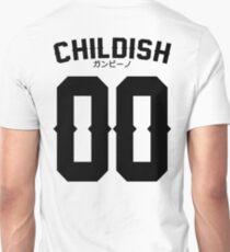 Childish Jersey v2: Black Unisex T-Shirt